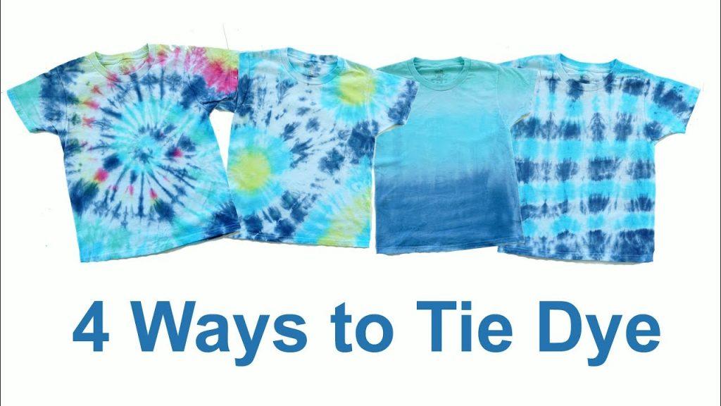 Tie-dye method
