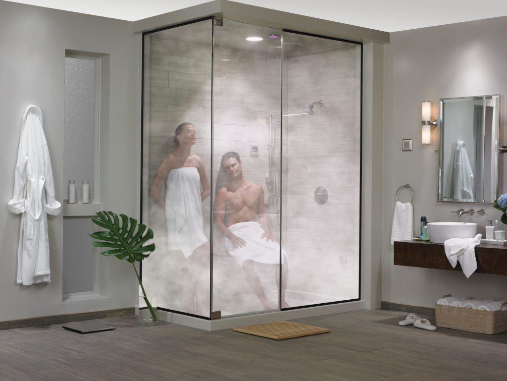 Enjoy All of The Benefits of Steam Showers in Your Own Home