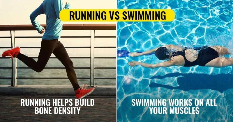 Swimming Over Running